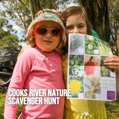 cooks river nature scavenger hunt
