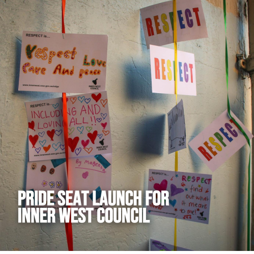 Pride Seat Launch for Inner West Council