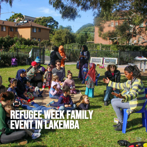 Refugee Week Family Event in Lakemba