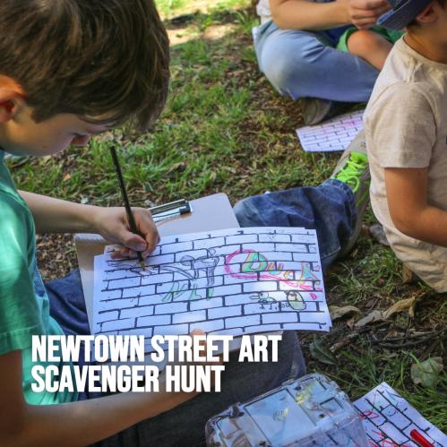 Newtown Street Art Scavenger Hunt
